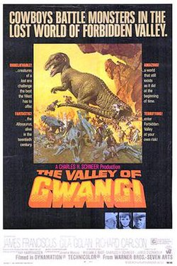 Claymation Dinosaur Movie : claymation, dinosaur, movie, Valley, Gwangi, Wikipedia