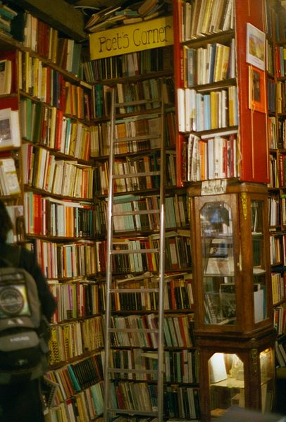 File:Shakespeare and Company Poets Corner.jpg