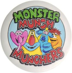 The original Monster Munch monsters as feature...