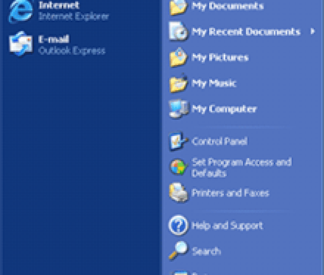 Updated Start Menu In The Royale Theme Now Featuring Two Columns