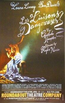 Les Liaisons Dangereuses Film 2002 : liaisons, dangereuses, Liaisons, Dangereuses, (play), Wikipedia