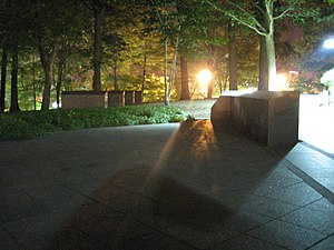 May 4 Memorial at Night