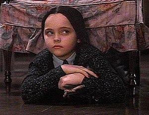 Christina Ricci as Wednesday in The Addams Fam...