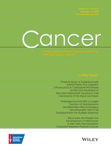 Cancer journal  Wikipedia