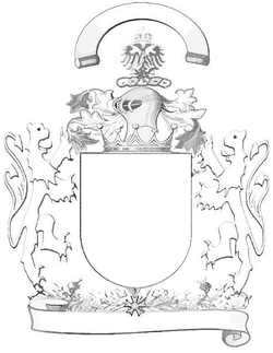 Coat-of-arms outline
