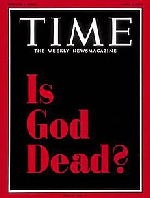 Is God dead, (Time, Apr. 8 1966)