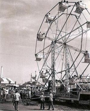 Historic photo of the Pine County Fair