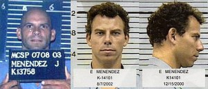 Mug shots of Lyle and Erik Menendez