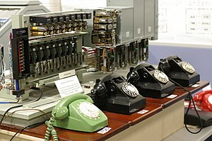 Mini telephone exchange