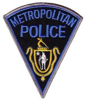 Massachusetts Metropolitan Police patch
