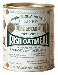 Tradtional 28-ounce tin of McCann's Steel Cut ...