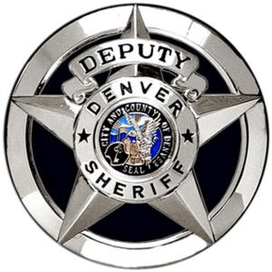 CO - Denver Sheriff Badge