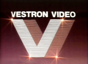 Vestron Video logo, from 1987