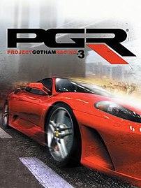 Cover art for PGR3.