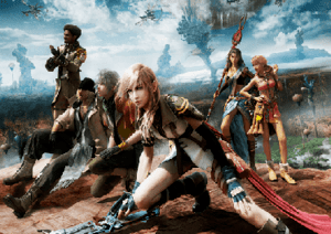 The playable cast of Final Fantasy XIII. From ...