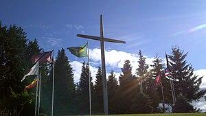 The Skinner Butte Cross at New Hope Christian ...