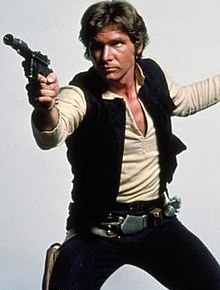 Han Solo depicted in promotional image for Star Wars (1977).jpg