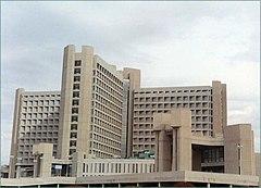 Hospital en la Universidad de Irbid.