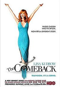 Poster for the TV series The Comeback