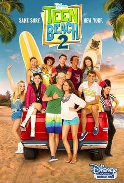 Teen Beach Movie 2 : beach, movie, Beach, Wikipedia