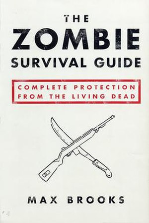 The cover to The Zombie Survival Guide