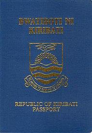 Kiribati passport  Wikipedia