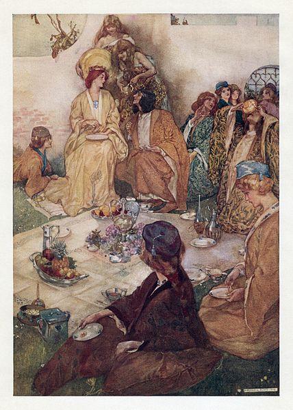 File:William Russell Flint - W. S. Gilbert - Savoy Operas - Princess Ida 5 (Frontispiece).jpg