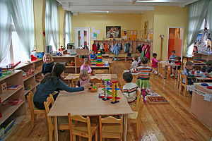 The Montessori pre-school