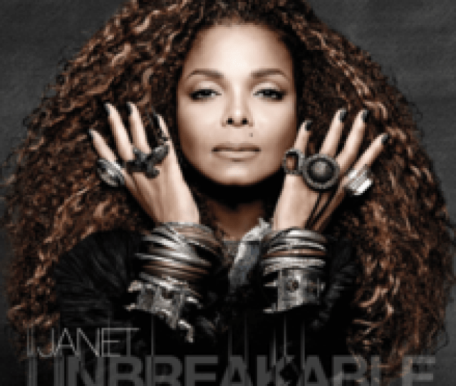 Janet Jackson Unbreakable Official Album Cover Png