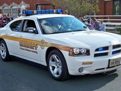 Prince William County Sheriff's Dodge Charger