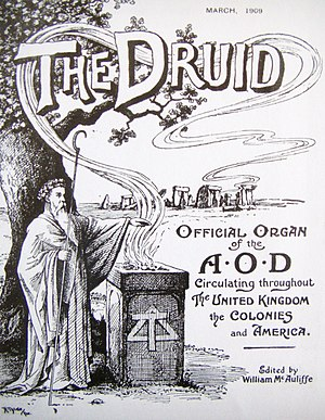 The March 1909 edition of The Druid, the magaz...