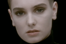 The lone face of O'Connor made the video one of the most recognisable of the 1990s.