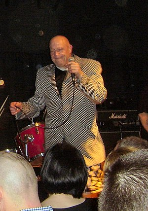 Buster Bloodvessel in 2007 at the Dundee Doghouse