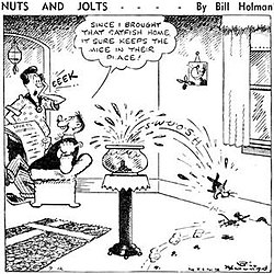 Bill Holman cartoonist  Wikipedia