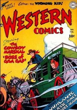 Western Comics  Wikipedia