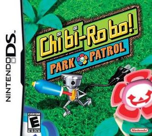 Chibi Robo! Park Patrol boxart