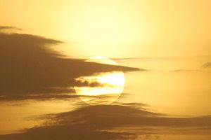 sunrise on a beautiful morning