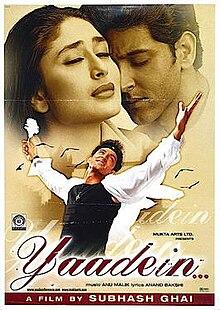 Yaadein 2001 film  Wikipedia