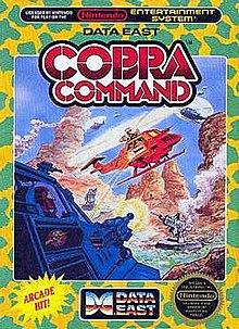Cobra Command 1988 video game  Wikipedia