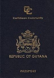 Guyanese passport  Wikipedia