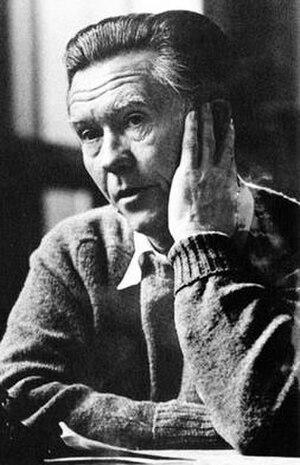 American poet William Stafford (1914-1993)