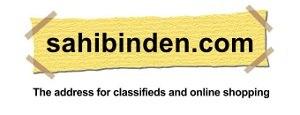 The logo of a Turkish internet company Sahibin...