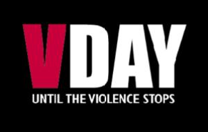 The V-day logo