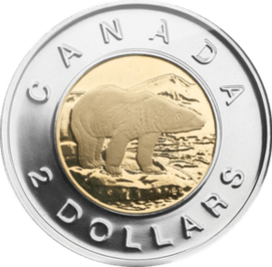 Canadian 2 dollar coin