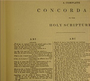 Alexander Cruden's Complete Concordance to the...