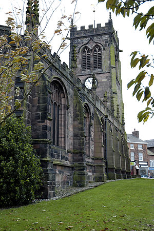 St Michael and All Angels Middlewich, England ...