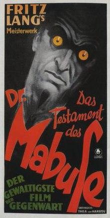 LE TESTAMENT DU DOCTEUR MABUSE 1933 - YouTube