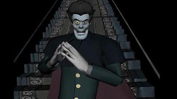 The Mastermind, voiced by Tim Curry. This was ...