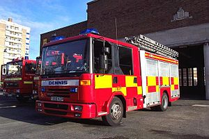 A Dennis Dagger of Merseyside Fire and Rescue ...