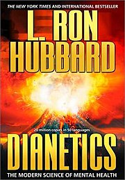 The volcano on the cover of Dianetics refers to the Xenu story